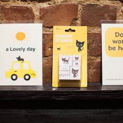 Propeller Studio cards and stamp set