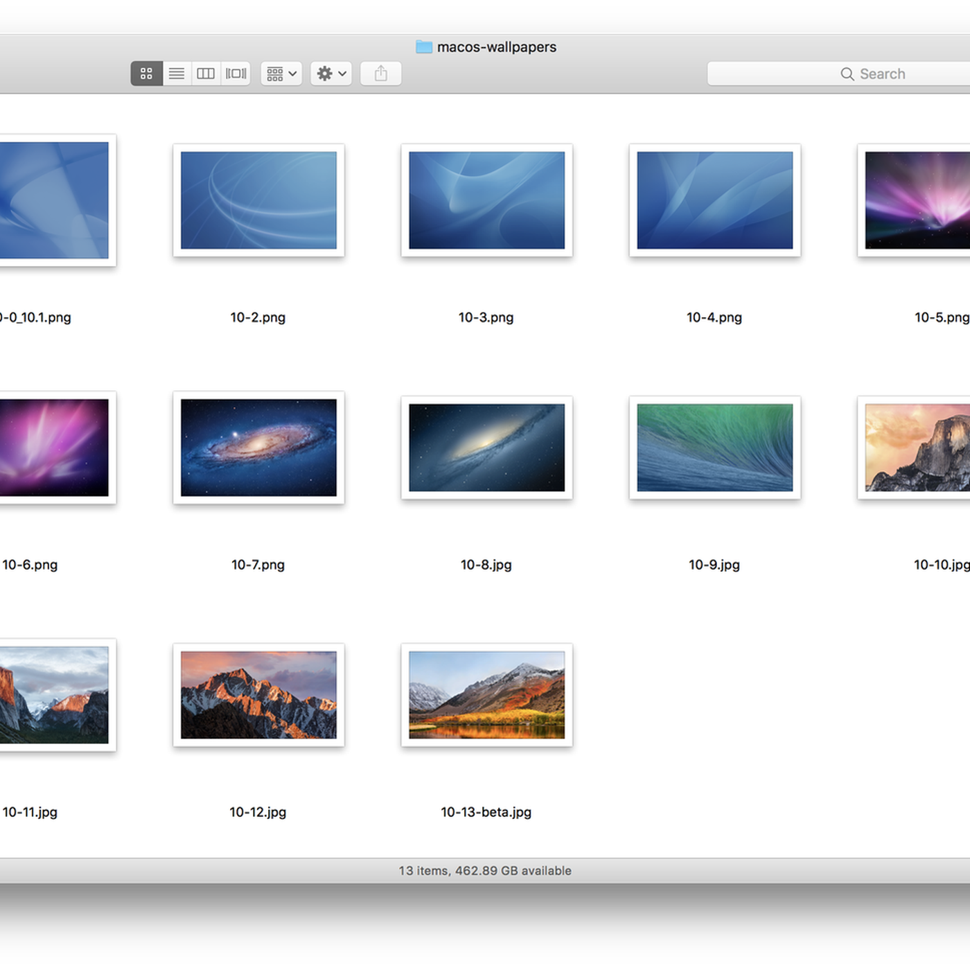 Look back at Mac OS X s history with 5K versions of all the default
