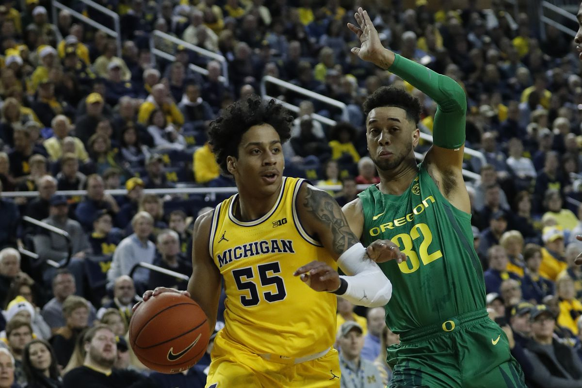 NCAA Basketball: Oregon at Michigan