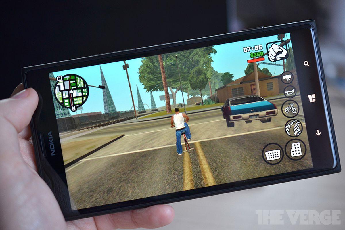 Grand Theft Auto San Andreas Windows Phone