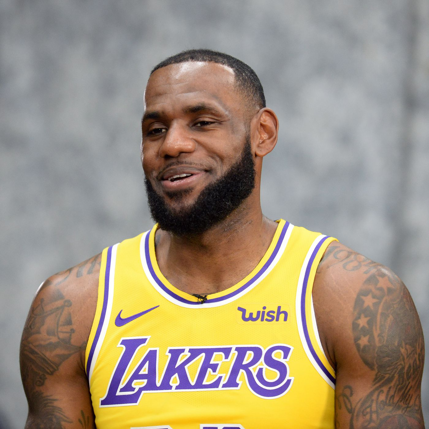 ad64dba732a See the new Lakers jerseys LeBron James   Co. wore at media day  You can  order one