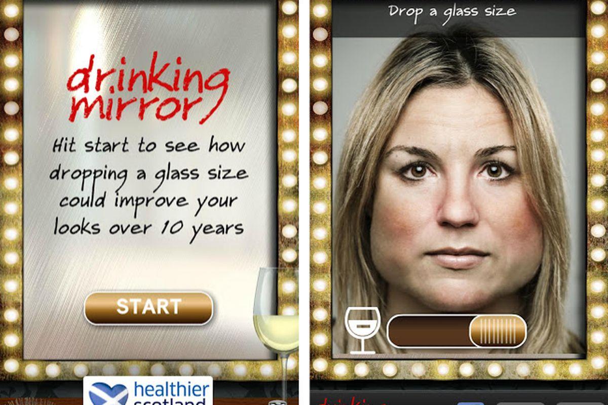 drinking mirror 2