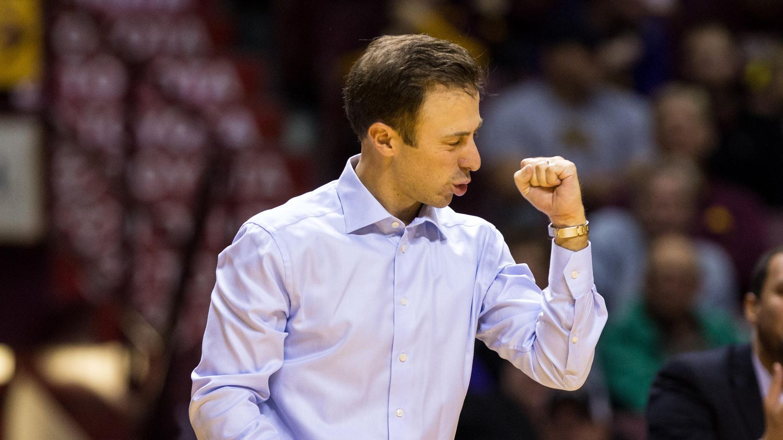 2017 Big Ten Coach of the Year Richard Pitino honored for