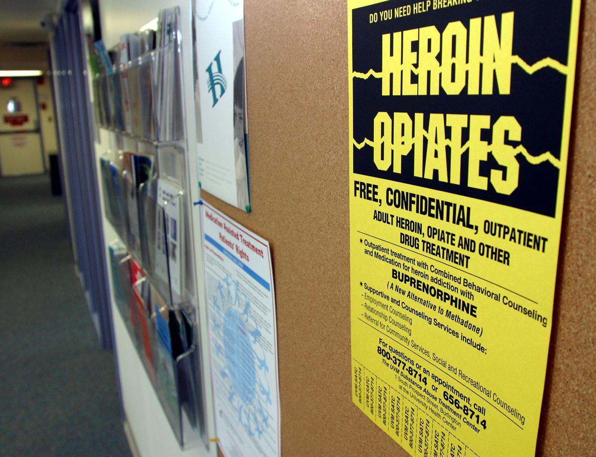 Opioid addiction treatment.