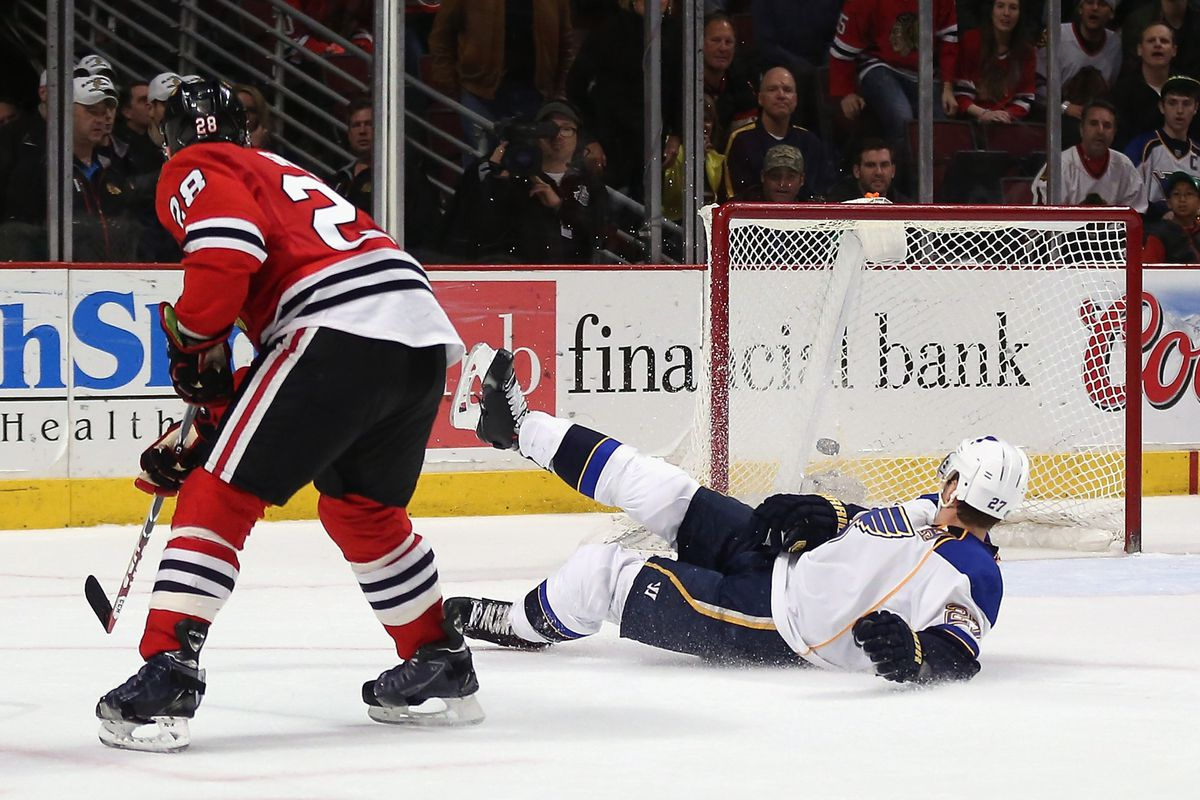 A pictorial representation of the Blues' past month.
