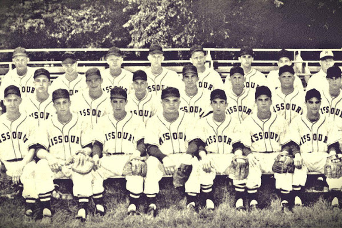 1954 Mizzou Baseball
