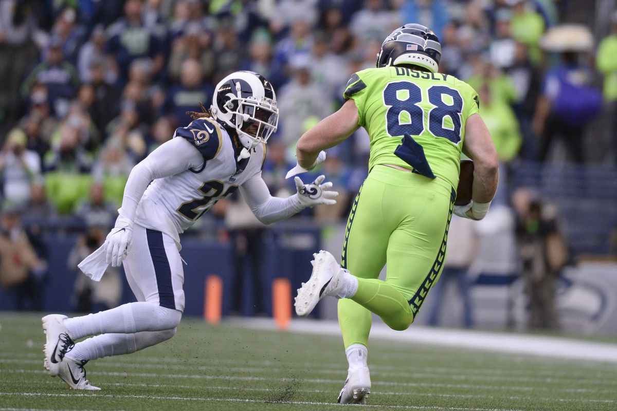 NFL: OCT 03 Rams at Seahawks
