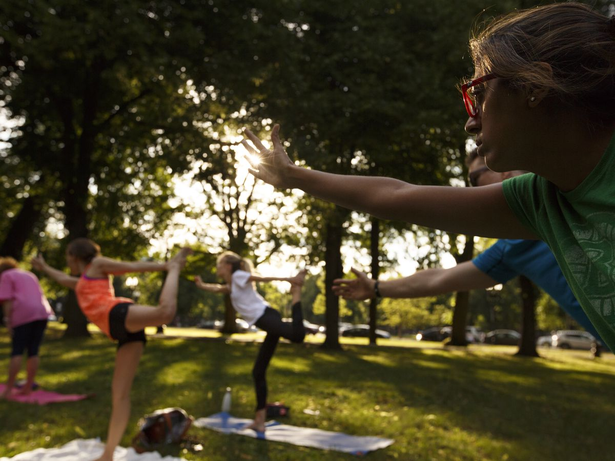 The best sunny workout spaces in Philly