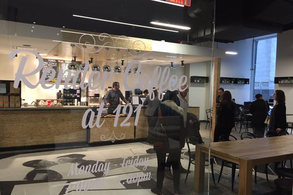 Render Coffee at 121