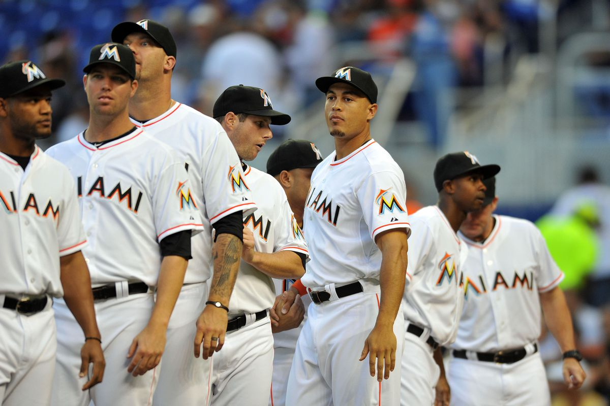 """Keeping Giancarlo Stanton among other Marlins players for the long haul is the true test of Jeffrey Loria's """"competitive core"""" comments."""