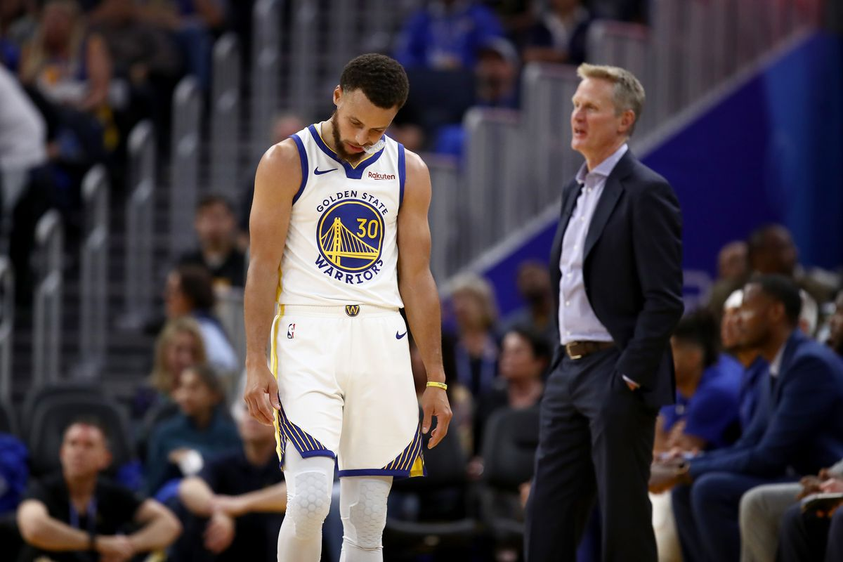 """Warriors Steve Kerr on opening night struggles: """"This is the reality"""""""