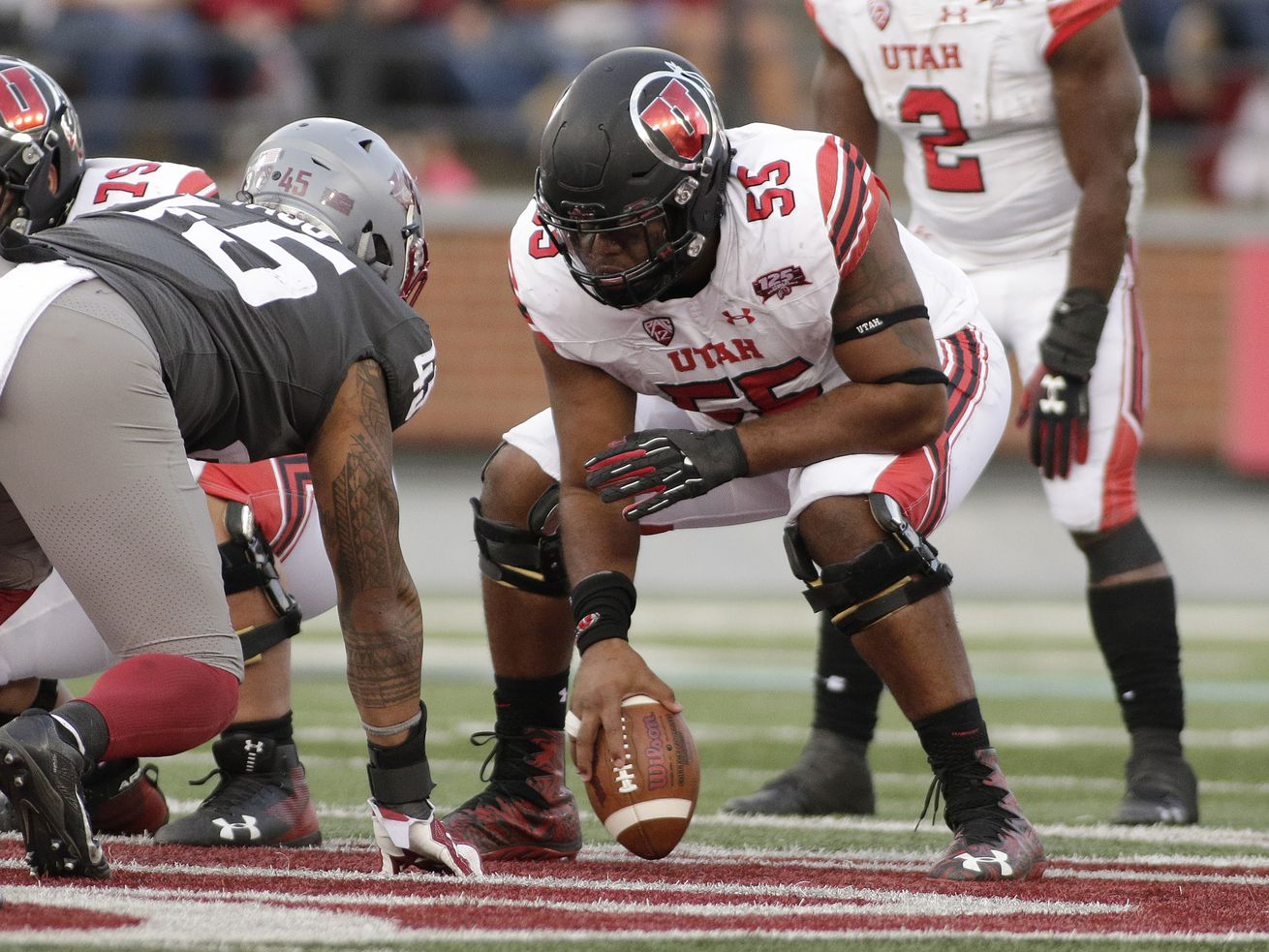 Versatile Nick Ford is now the center of attention on Utah's offensive line