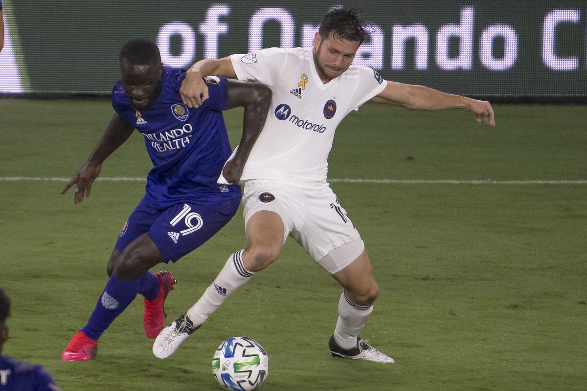 SOCCER: SEP 19 MLS - Chicago Fire FC at Orlando City SC