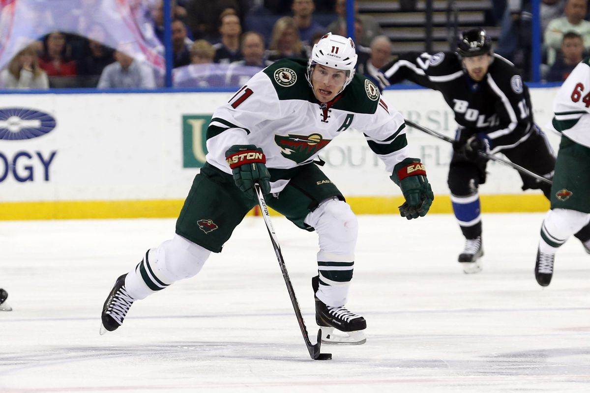 No one can question Parise's willingness to play, but one can question whether it always helps the Wild.