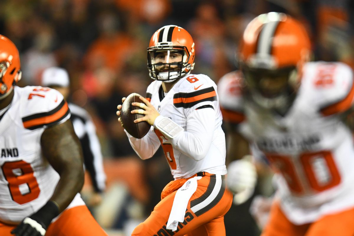 6ae72988ffc Cleveland Browns  Baker Mayfield named PFWA Rookie of the Year ...
