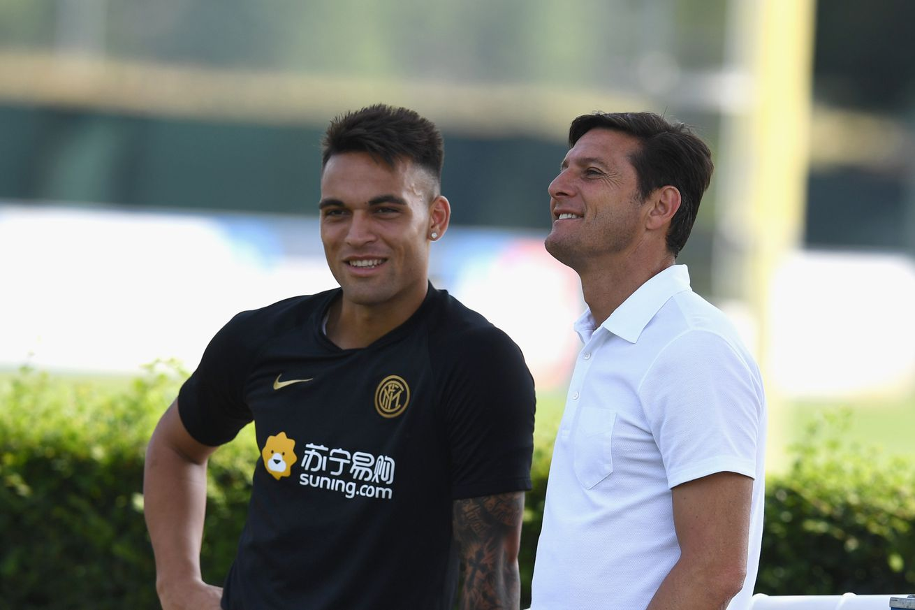 Zanetti hopes Lautaro stays at Inter for a long time amid Barca rumors