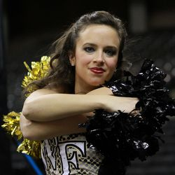 The Wake Forest dance team