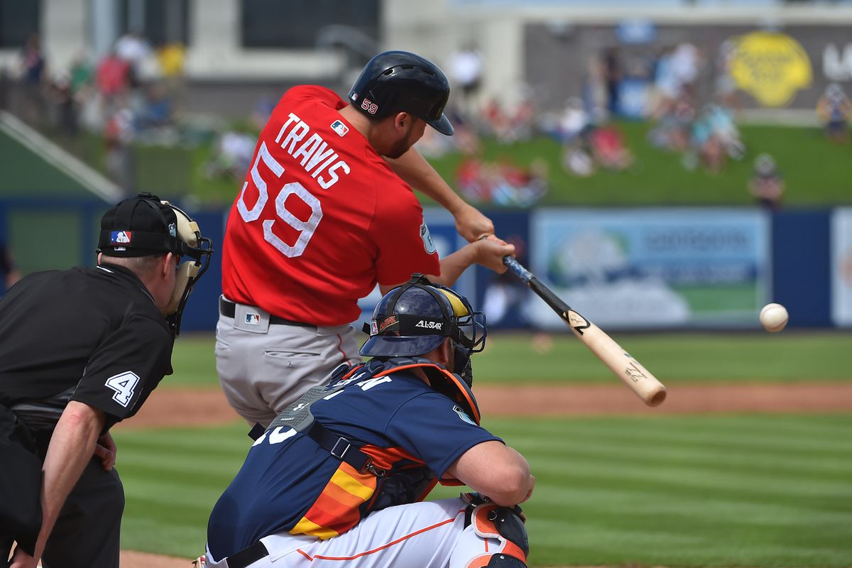 MLB: Spring Training-Boston Red Sox at Houston Astros