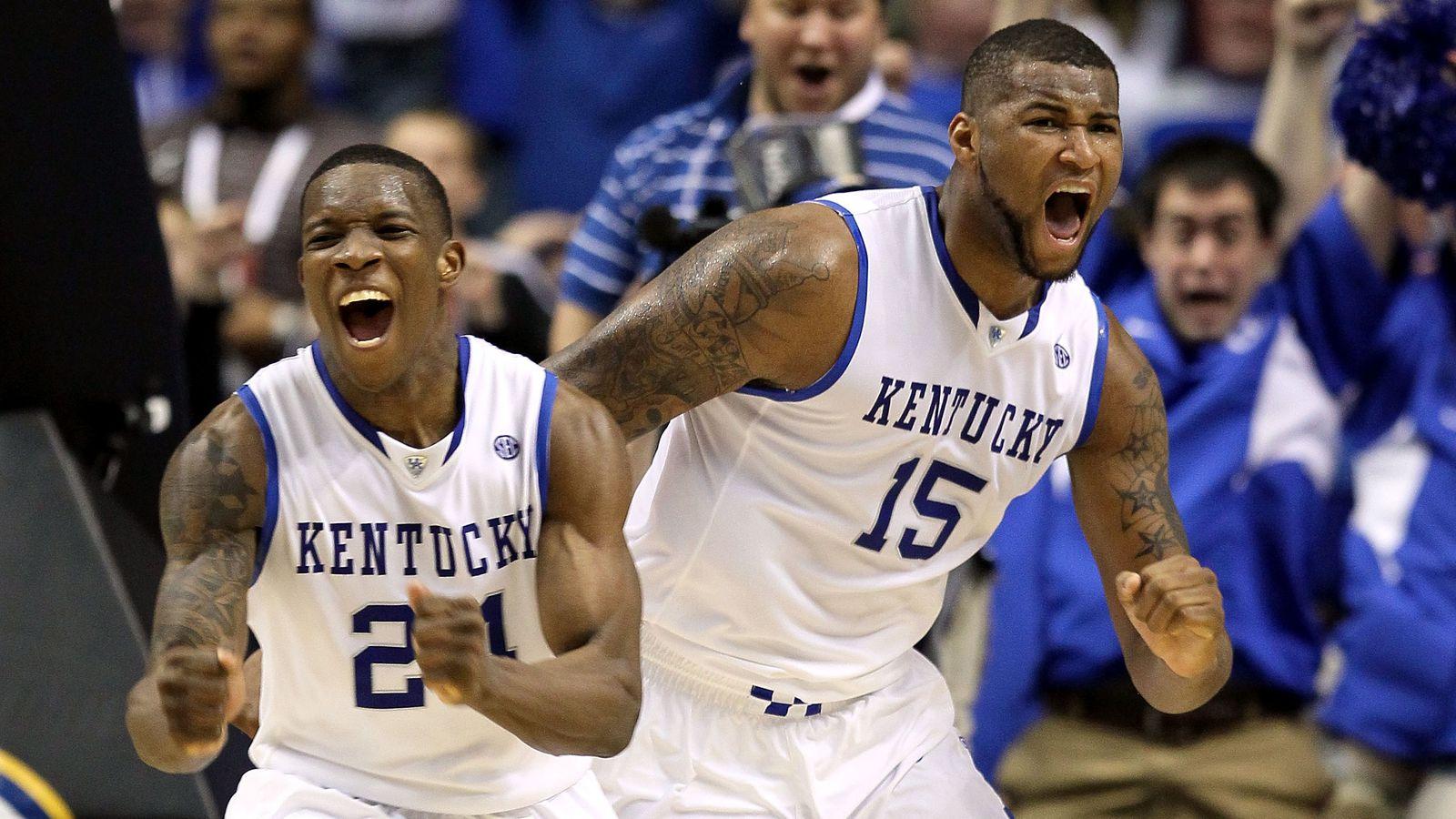 Uk Basketball: Kentucky Wildcats Vs North Carolina Alumni Charity Game On