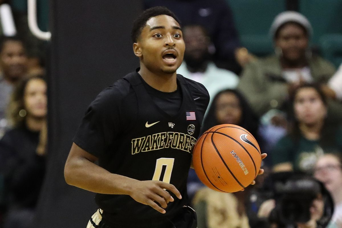 NCAA Basketball: Wake Forest at Charlotte