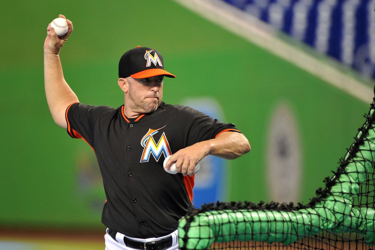Bench coach Rob Leary dropped a little insight about what the Marlins want their pitchers to do.