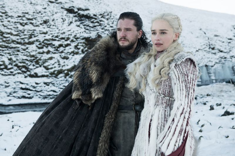game of thrones season 8 jon snow and daenerys targaryen