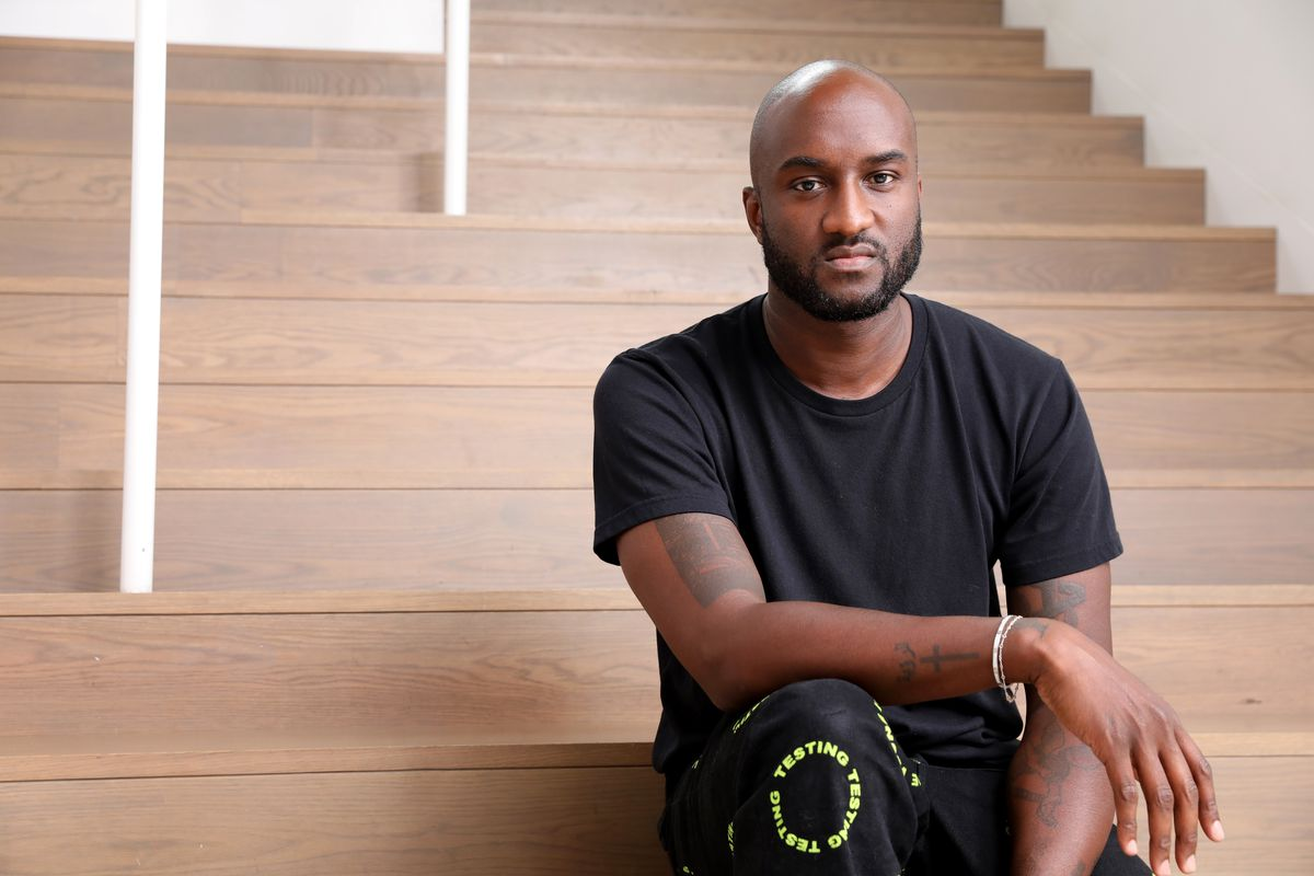 Virgil Abloh at Museum of Contemporary Art in his debut