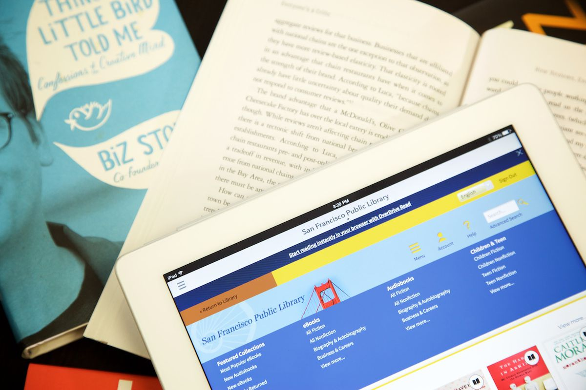 OverDrive Review: A Free E-Book Lending Service That