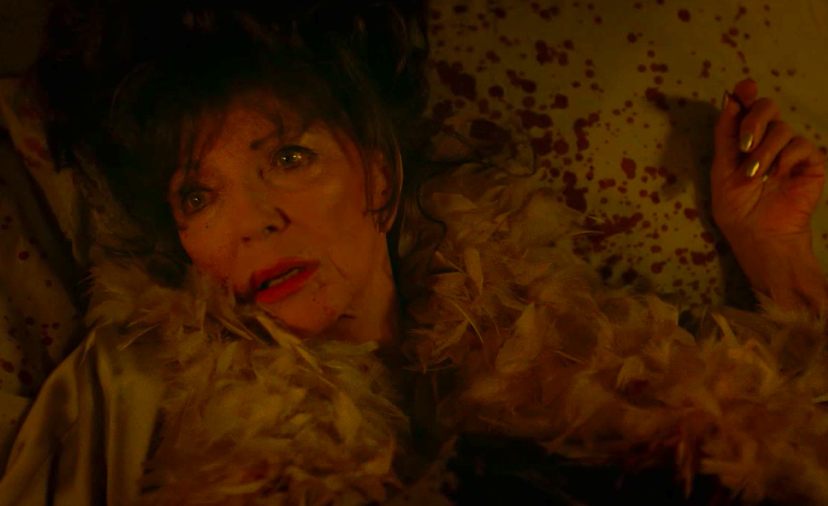 Joan Collins as Evie Gallant in American Horror Story: Apocalypse