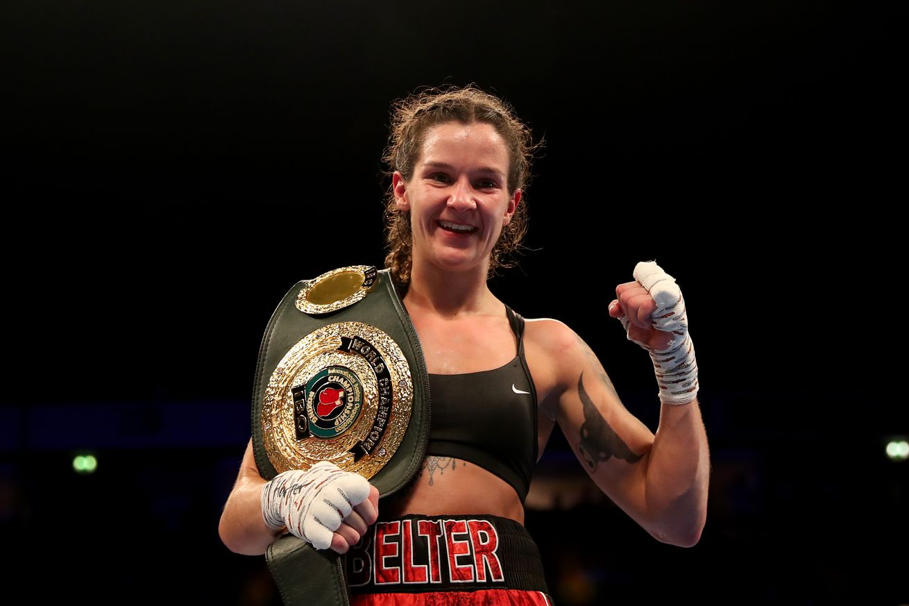 Katie Tayor v Christina Linardatou - WBO World Super-Lightweight Championship Title Fight
