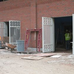 2:37 p.m. New side gates along Sheffield -