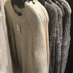 Cashmere and wool sweater, $119 (was $365)