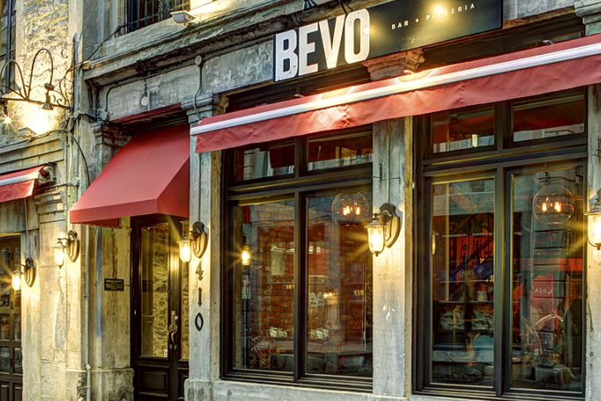 Bevo in Old Montreal