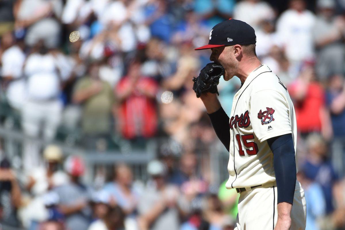 MLB: Los Angeles Dodgers at Atlanta Braves