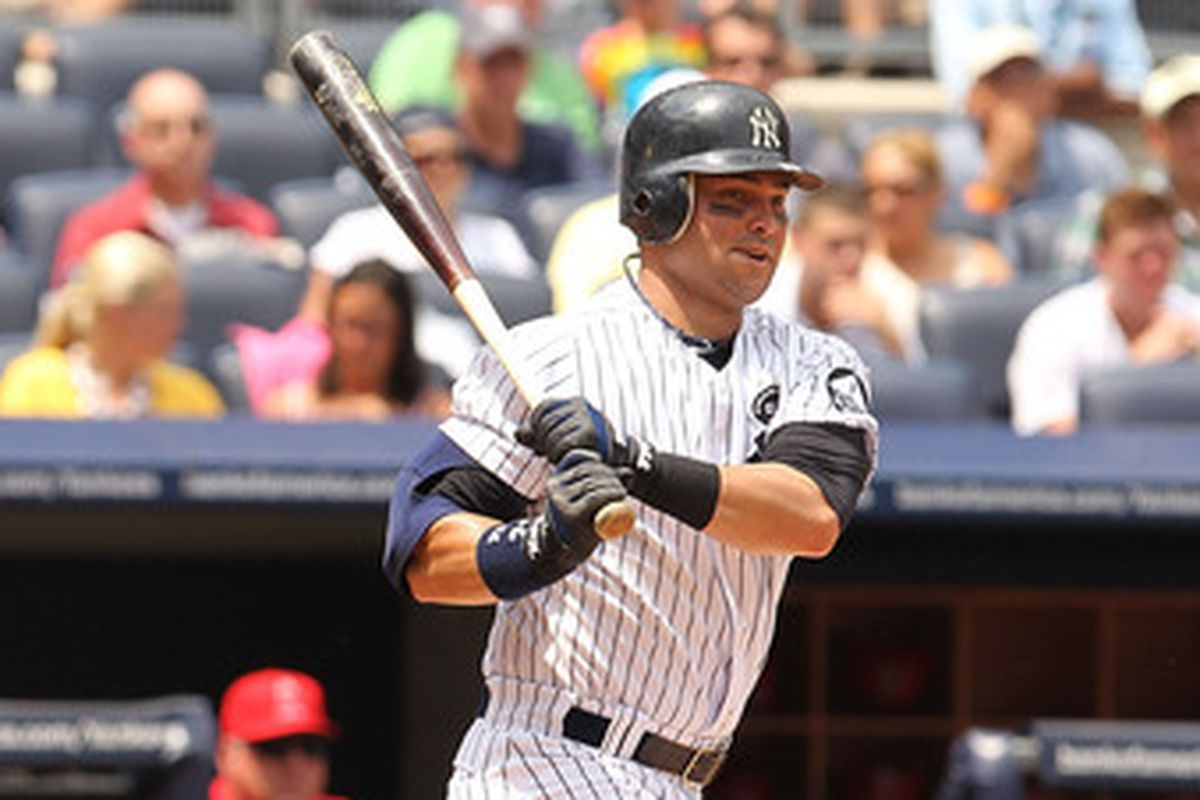 Pinstripe Alley Top 100 Yankees 91 Nick Swisher Pinstripe Alley