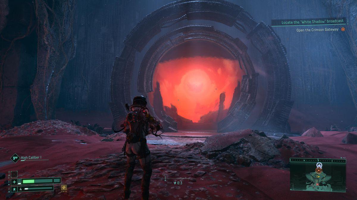 The Crimson Gate in Returnal