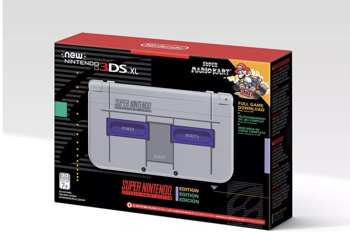 Amazon Gold Box Deal Of The Day Nintendo 3ds Xl Snes Edition Polygon