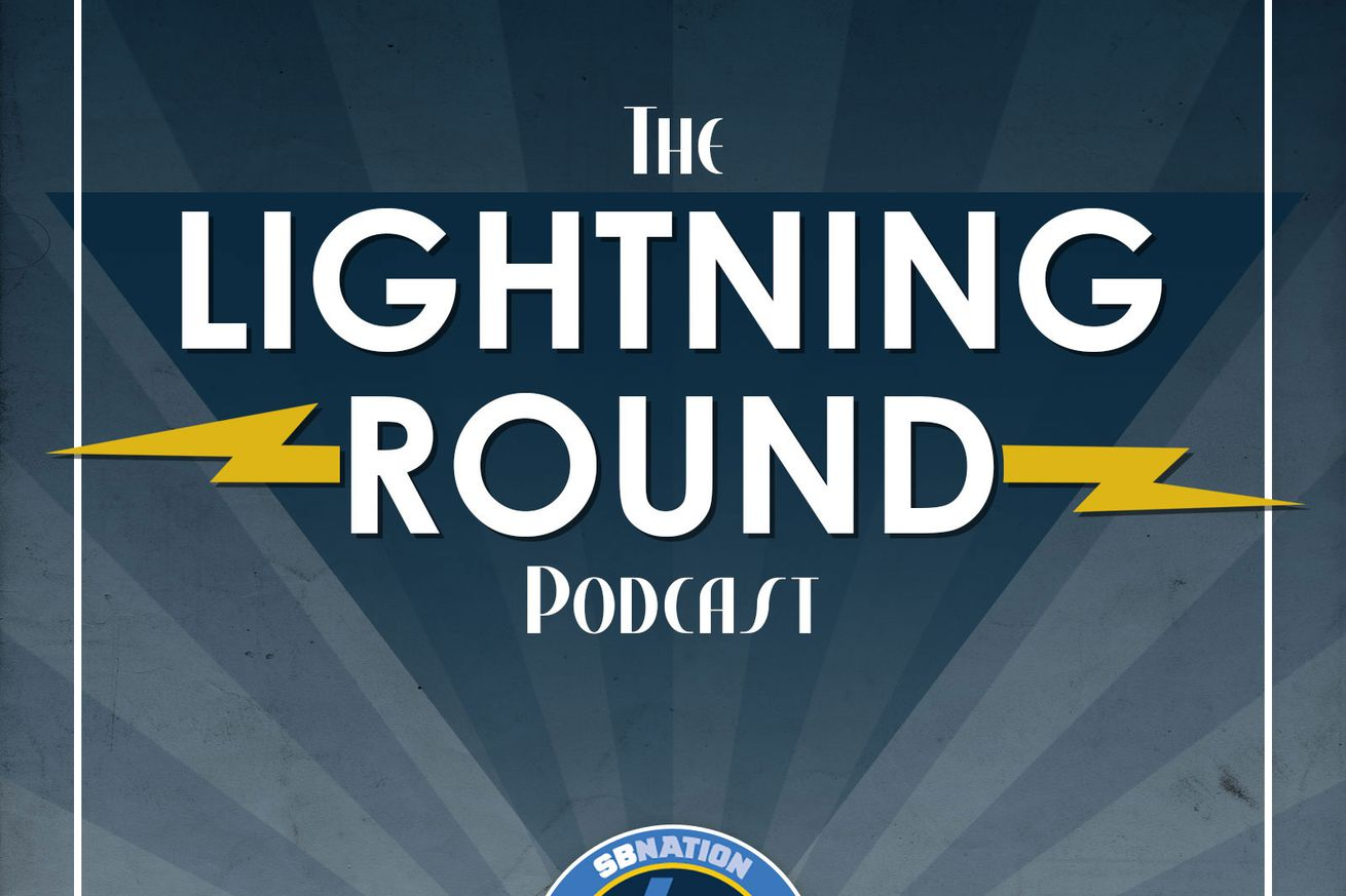 The Lightning Round Podcast #168: This was Anthony Lynn's masterpiece
