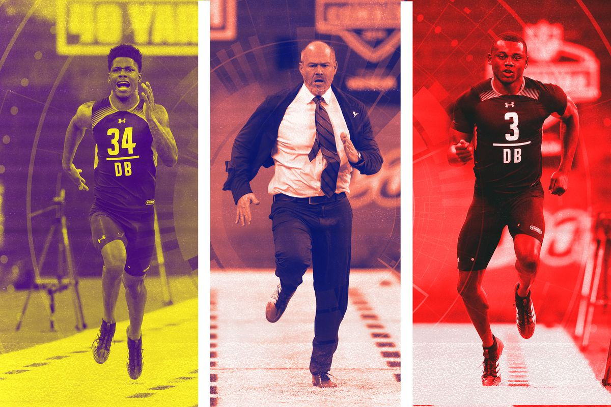 NFL Combine 2019  Greedy Williams and Rich Eisen Star on Day 6 - The ... 258bae566