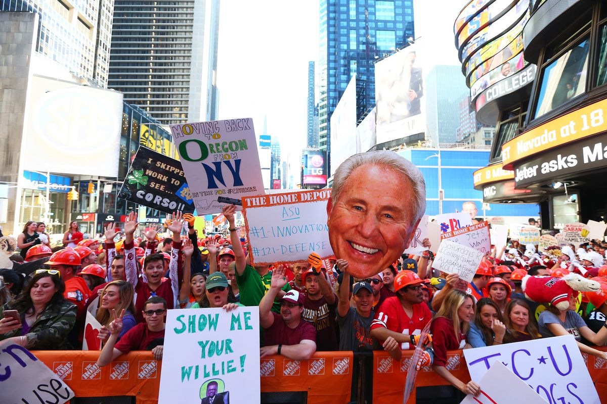 ESPN College GameDay Built by The Home Depot - Times Square