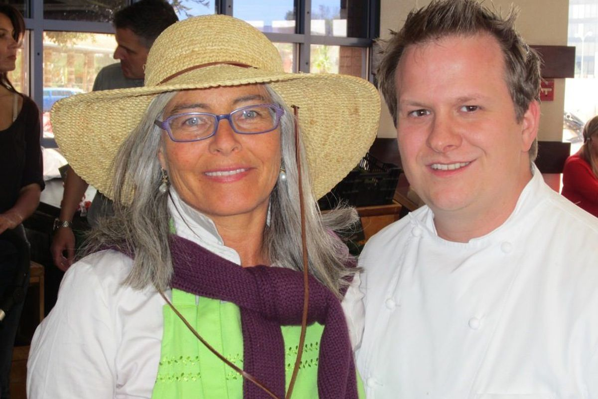 Kerry Clasby, the Intuitive Forager, and chef Brian Howard from Comme Ça..