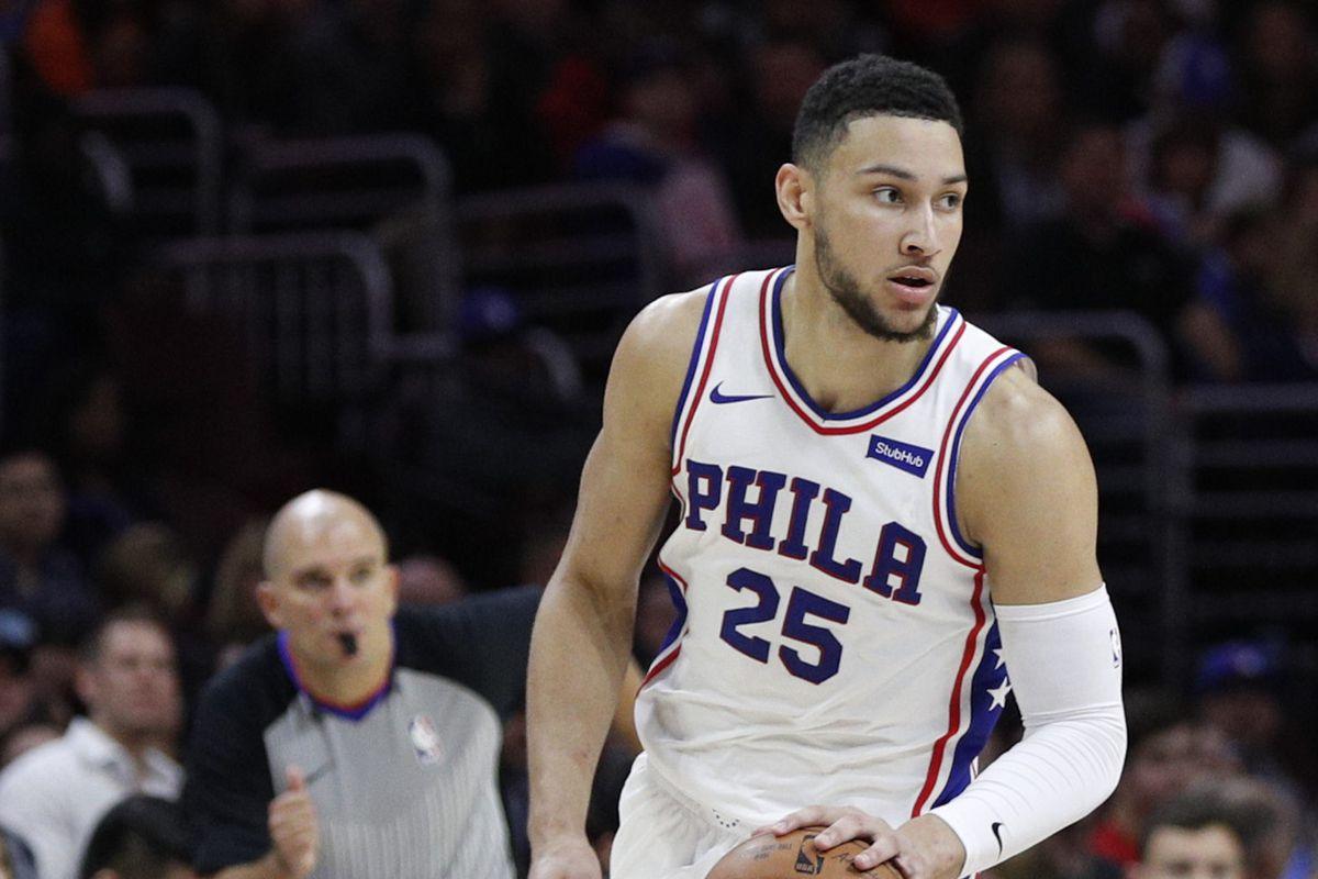 Philadelphia 76ers' Ben Simmons in action.