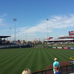 View from right-field corner