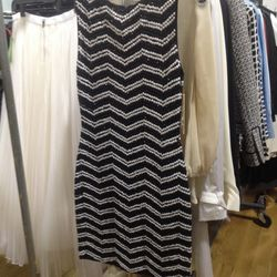 Sequined chevron dress, $269 (was $550)