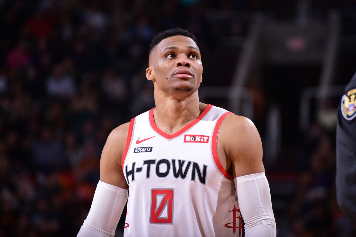 Houston Rockets: Russell Westbrook positivo al COVID-19