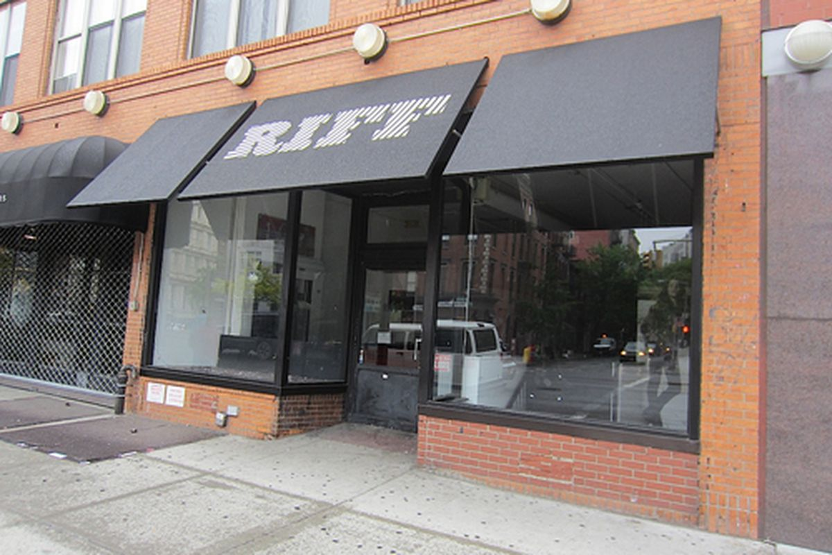 """313 Bowery via <a href=""""http://evgrieve.com/2012/05/pop-up-party-is-over-at-riff-on-bowery.html"""">EV Grieve</a>"""