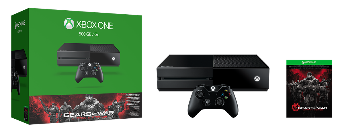 Gears of War Ultimate Edition Xbox One bundle
