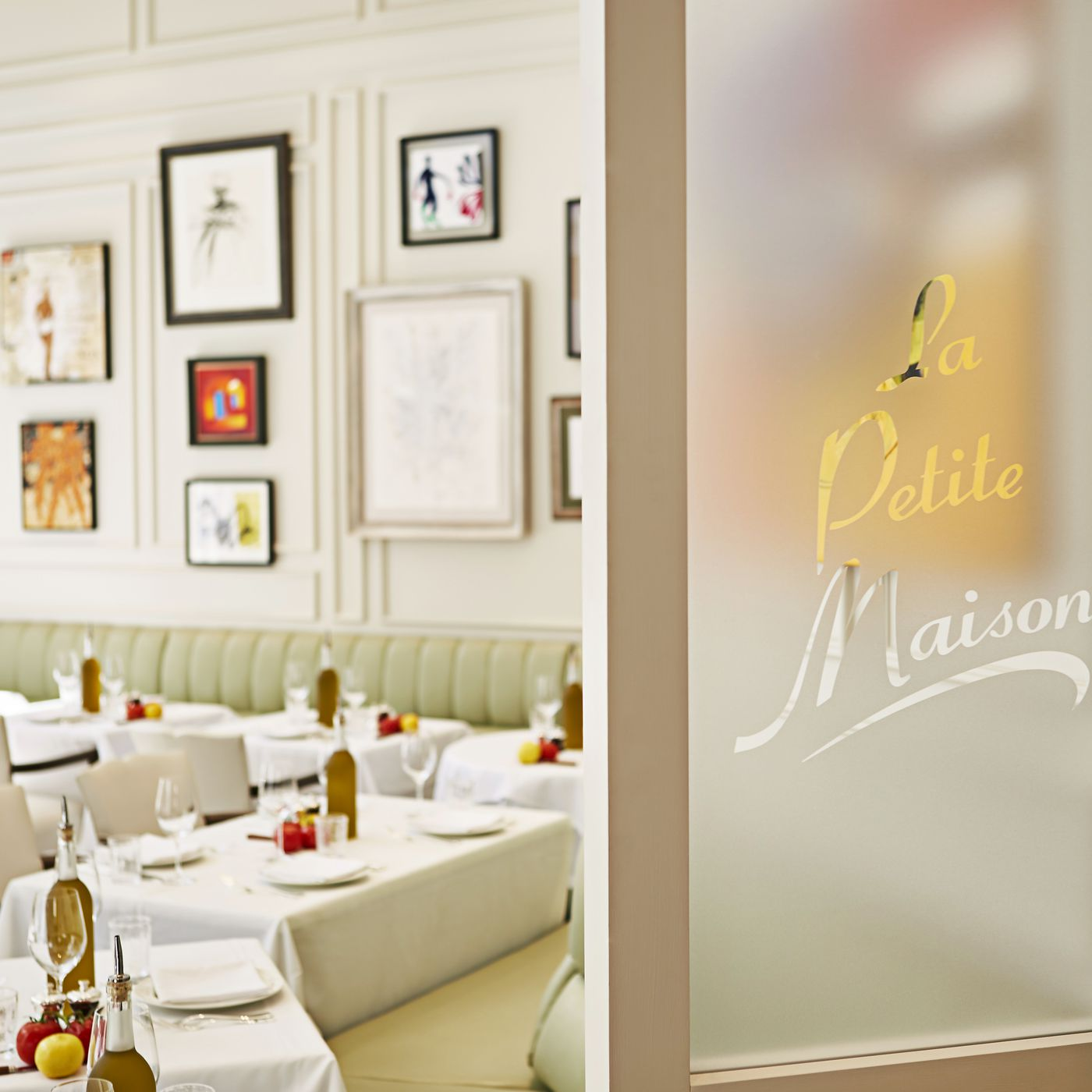 Bar Le French Flair la petite maison brings sophisticated french flair to