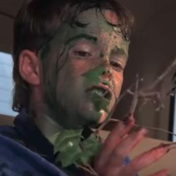 """""""Troll 2"""" is about a suburban American family that goes on vacation to the town of Nilbog and then gets threatened by vegetarian goblins that attempt to transform them into edible plants."""