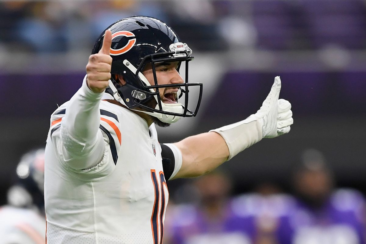 Will Mitch Trubisky respond to the challenge of competing with Nick Foles for the starting quarterback job with the Bears? That will be the focus of the Bears' offseason, whenever they return to the field.
